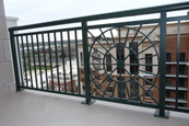 Aluminum railings in many styles
