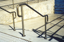 aluminum pipe railing for stairs